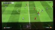 بازی ایتالیا اسپانیا در PES2015 (پارت 1)