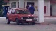 سوتی خیلی خیلی خنده دار خانم در پمپ بنزین!....