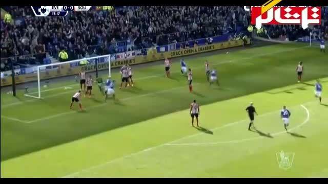 خلاصه بازی : اورتون 1 - 0 ساوتهمپتون ( ویدیو )