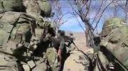 حمله هوایی آمریكا و نابودی تك تیر اندازان طالبان