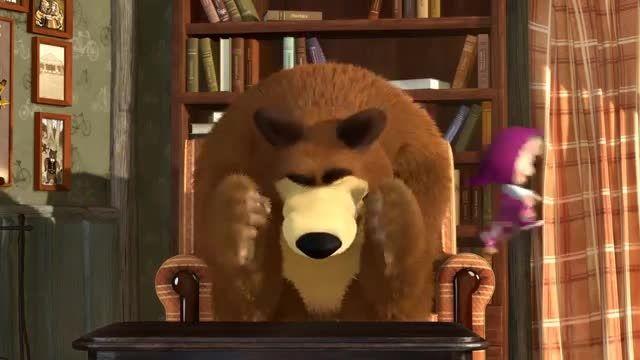 کارتون فوق العاده باحال و خنده دار ماشا و خرس