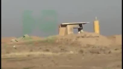 درگیری شدید سپاه بدر و داعش در چند قدمی -عراق-سوریه