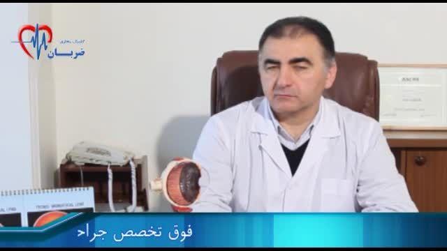 دکتر فرید کریمیان- آشنایی با ساختار قرنیه و لنز چشم