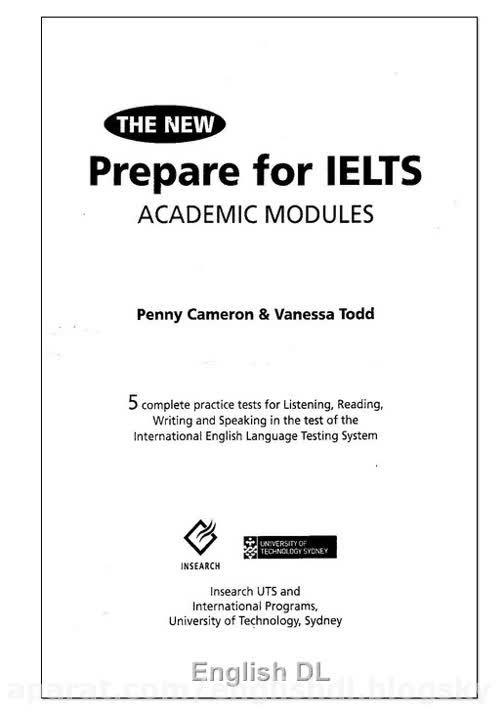 دانلود کتاب  The New Prepare for IELTS
