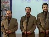 اجرای سرود ایران در حضور رییس جمهور
