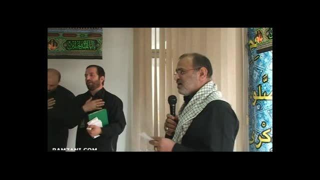 مداحی دکتر محمد علی رمضانی به مناسبت شهادت علی اصغر (ع)