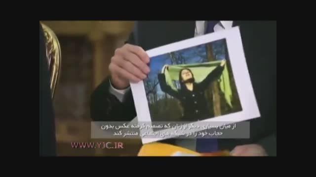 واکنش جالب آقای روحانی به کشف حجاب یک زن