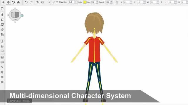 ویژگی های نرم افزار crazy talk animator 2