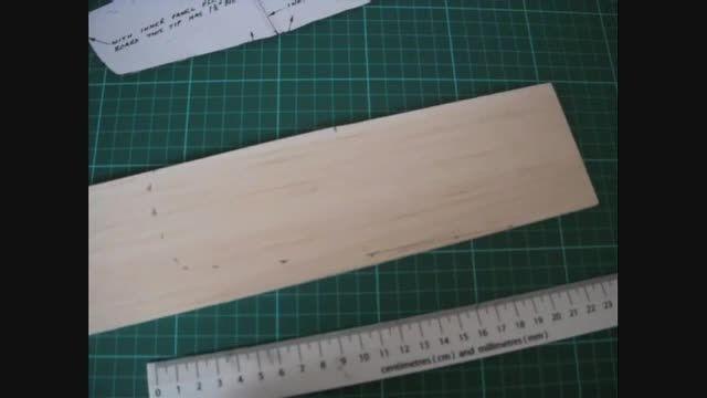 آموزش ساخت گلایدر با چوب بالسا