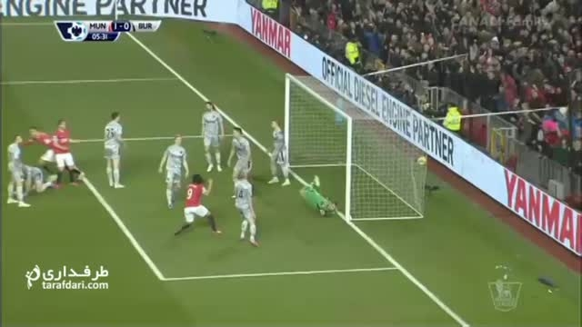 خلاصه بازی منچستر یونایتد 3-1 برنلی