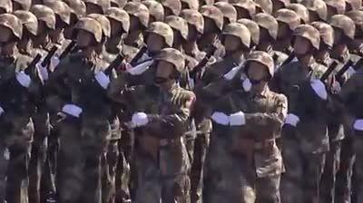 رژه ارتش چین