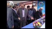 فیلم افتتاح شبکه های سلامت و تماشا توسط احمدی نژاد