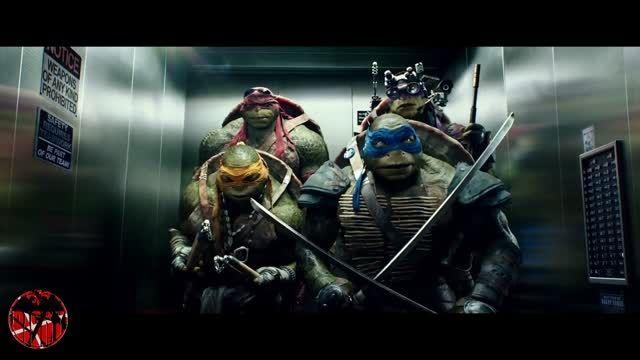 تیکه خنده دار از فیلم لاکپشتهای نینجا (2014)