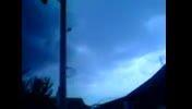 معجزه قدرت الهی (دو چشمی که بین ابرها ظاهر میشود)