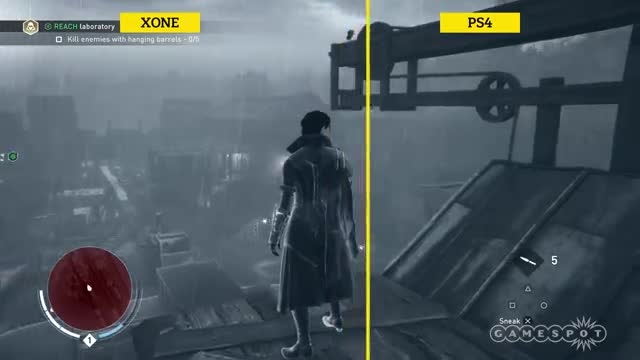 مقایسه گرافیک بازی Assassins Creed Syndicate