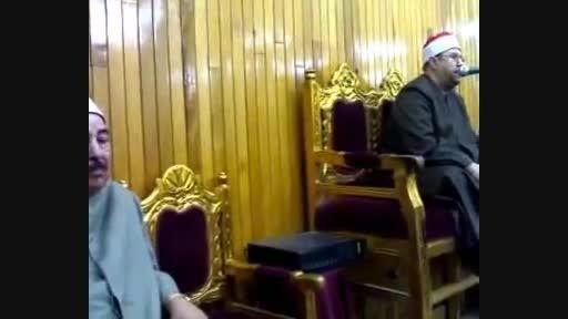 استاد محمد مهدى شرف الدین دیر استاد محمد طبلاوى