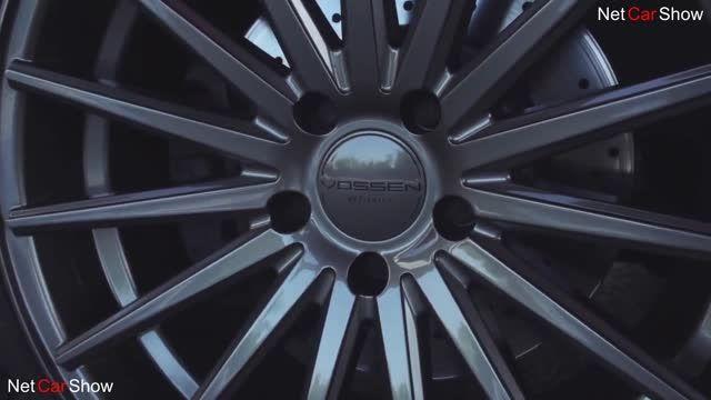 BMW M۳با رینگ ووسن(کیفیت بالا)