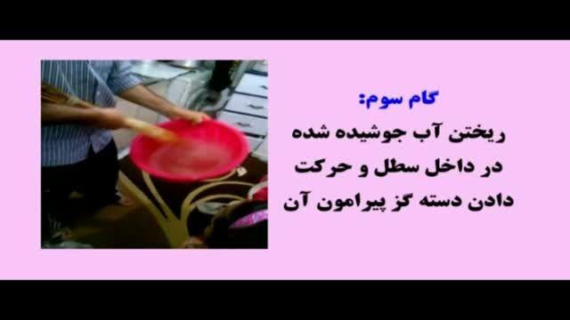آموزش گام بگام کف زنی خانیک گناباد-اجرا:تهران-مهر93