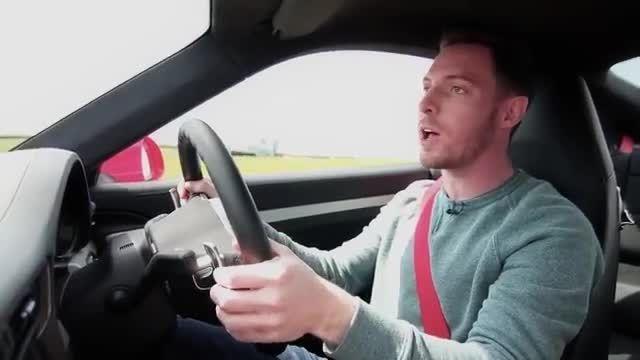 مسابقه مرسدس AMG GT با پورشه 911 توربو