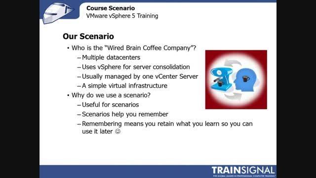 Lesson 03 - Course Scenario VMware vSphere 5