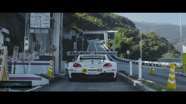 لوکاپرو: دریفت فوق العاده زیبای BMW Z4 در جاده خطرناک
