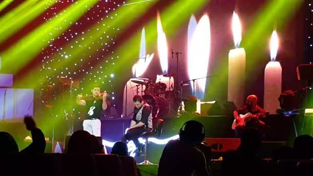 اجرای آهنگ حواست نیست کنسرت 25 اردیبهشت بابک جهانبخش