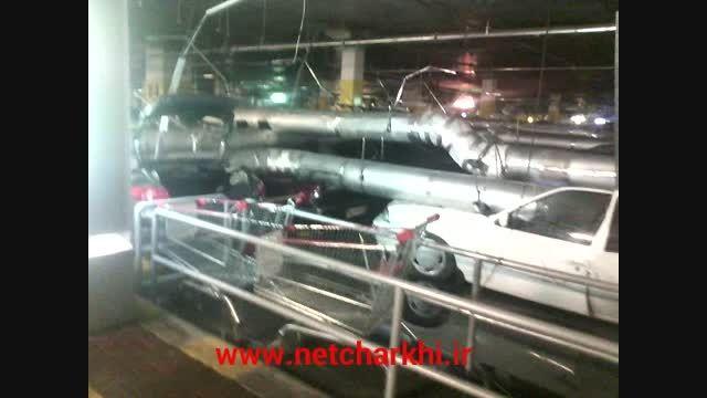 فاجعه در پارکینگ سیتی سنتر اصفهان