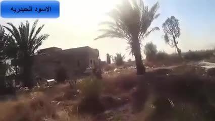 محاصره کردن تک تیرانداز داعشی و بالاخره الی جهنم- سوریه