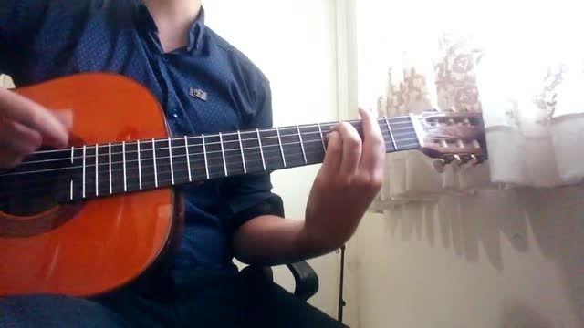 آهنگ حمید عسگری با گیتار