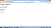 آموزش طراحی سایت با html |تگهای heading(سرتیتر) در HTML