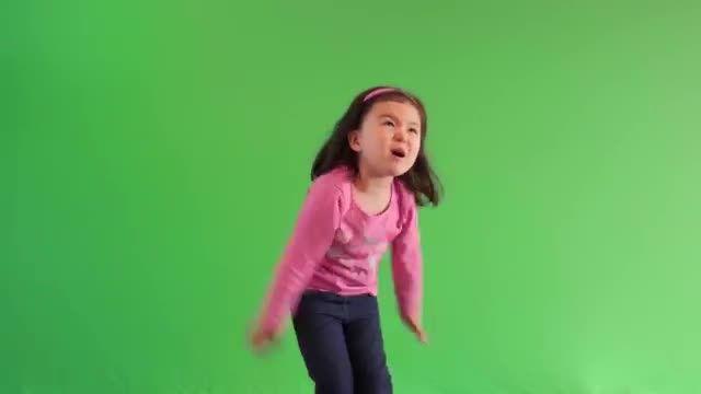 انگیزه بخشی یک دختر سه ساله