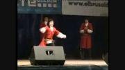 رقص فوق العاده زیبای قفقازی بچه های بالکار-ترکی قره چای