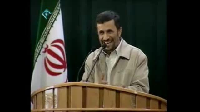 علاقه فرمانده آمریکایی به احمدی نژاد...