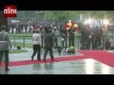 ناشی گری های رئیس جمهور جدید فرانسه در یک مراسم رسمی دیپلماتیک