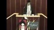قرائت وصیت نامه حضرت امام خمینی(ره)