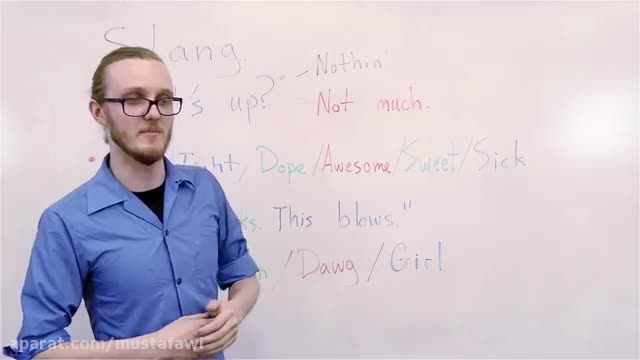 آموزش اسلنگ های زبان انگلیسی-American Slang