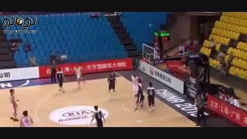 بسکتبال قهرمانی آسیا  ایران و هنگ کنگ