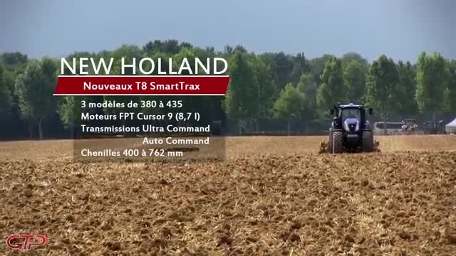 NEW HOLLAND T8.435 SmartTrax + T9 Tier IV Final