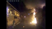 حادثه ضبط شده با دوربین مداربسته اتومبیل CARPA