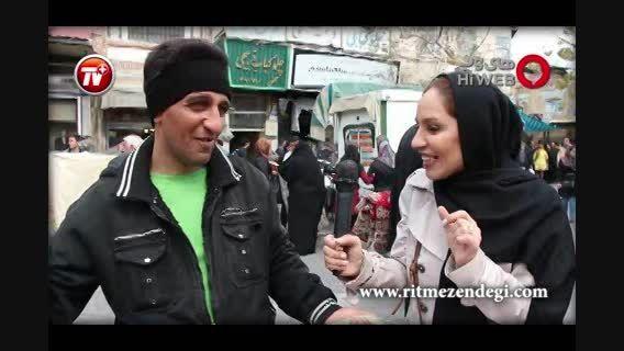 انفجار جمعیت در بازار بزرگ تهران چند روز مانده به عید