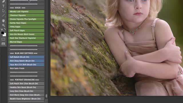 اکشن روتوش ،اکشن رنگ،اکشن فتوشاپ ،اکشن برای عکاسان
