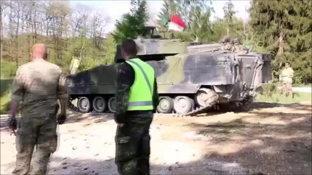 تانک ها و خودروهای زرهی ارتش دانمارک 2015