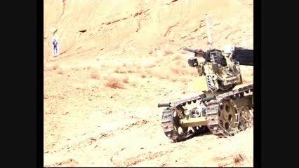 روبات نظامی سپاه پاسداران