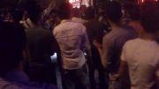 خوشحالی مردم اراک به خاطر رییس جمهور شدن دکتر روحانی - ساعت 2:15 شب