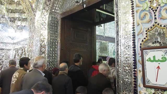 فیلم آستان امامزاده حسین (ع) شهر قزوین