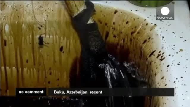 حمام قیر طبیعی در جمهوری آذربایجان