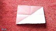 اوریگامی ساخت پرنده ای كه بال می زند