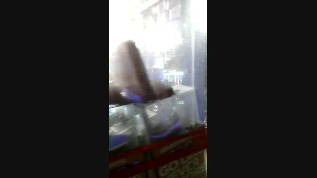 آتش سوزی در پاساژ اروند ابادان