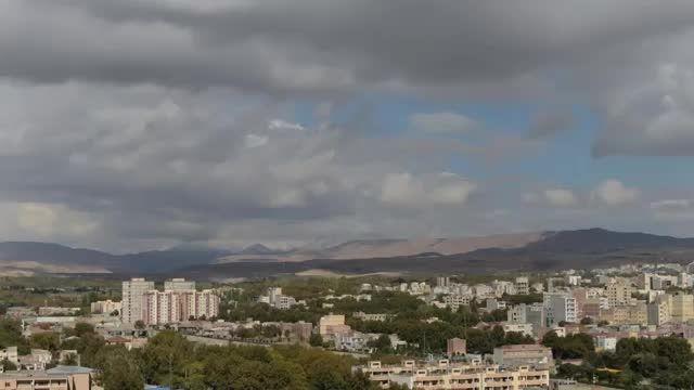 تایم لپس کوتاه از سهند و شهر مراغه در آذربایجان شرقی
