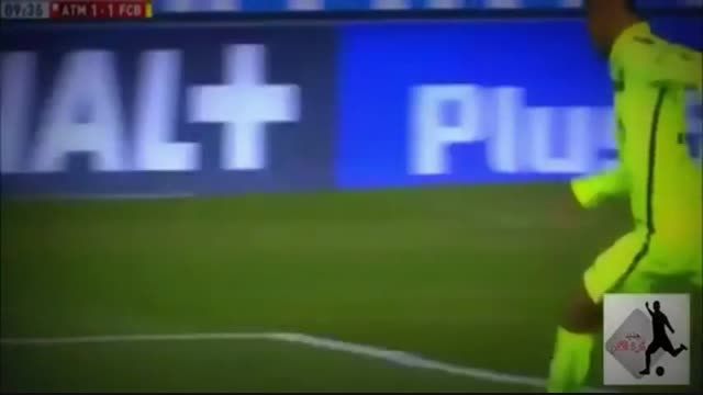 گل های بازی بارسلونا در مقابل اتلتیکو مادرید